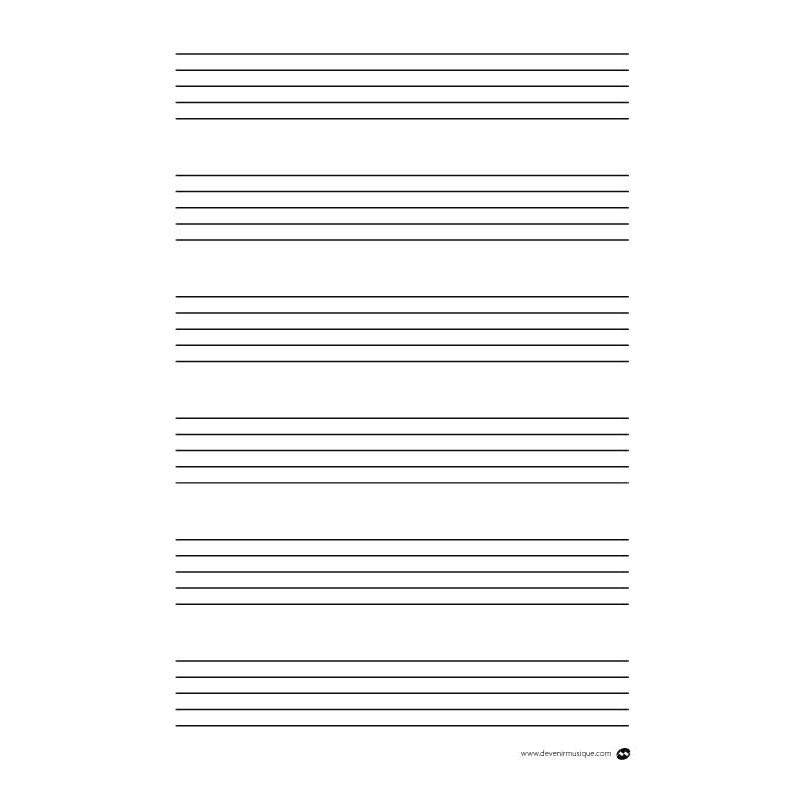 Feuille a4 - Feuille de musique a imprimer ...
