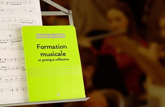 les carnets de cours pour les jeunes musiciens